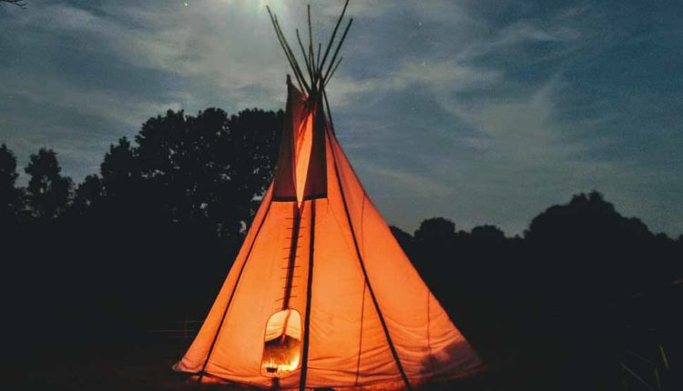 Usefulness of teepee tents for kids